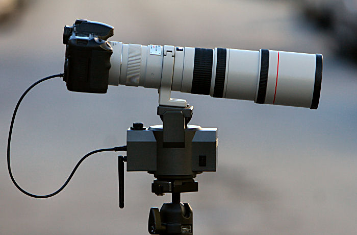 AutoMate with a 400 mm lens